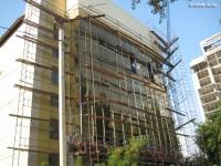 Остекленение фасада здания